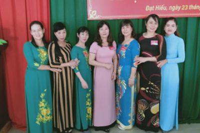 Hình ảnh Đại hội Chi bộ trường MN Hoa Sen